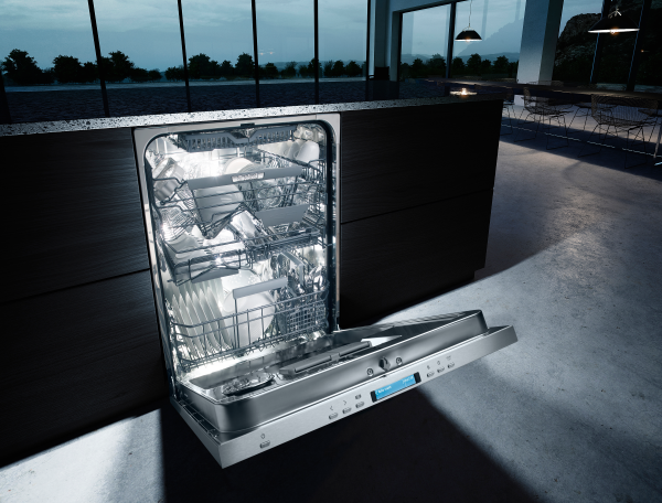 ASKO dishwasher with Night mode.