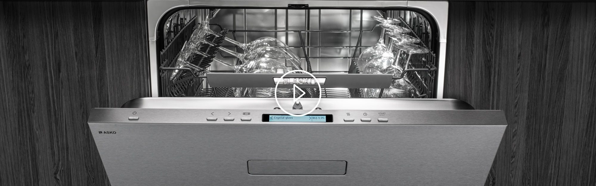 ASKO Dishwashers are tested for 20 years of frequent use