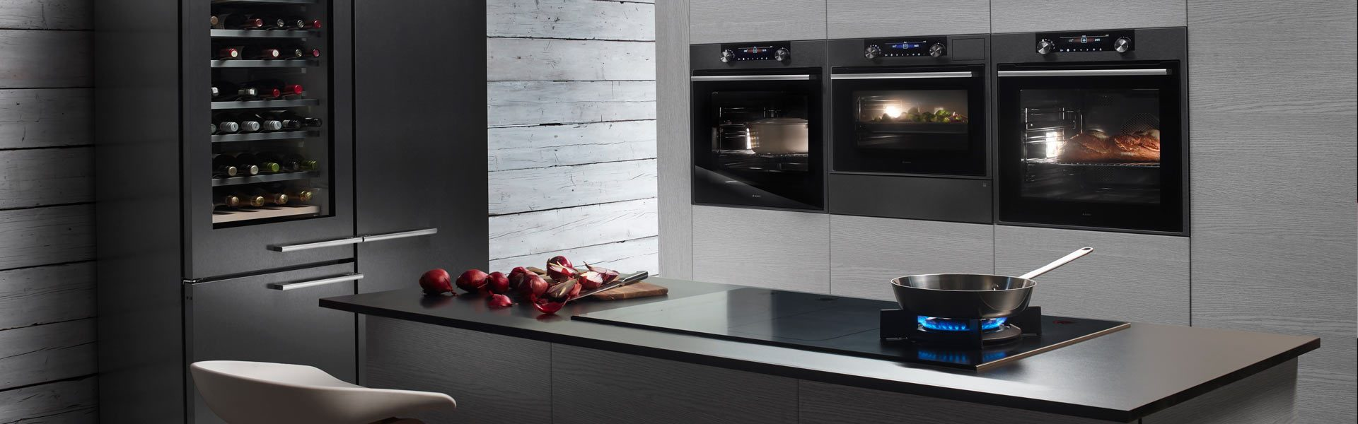 Black Steel from ASKO, the new color for oven, cooling and drawers.