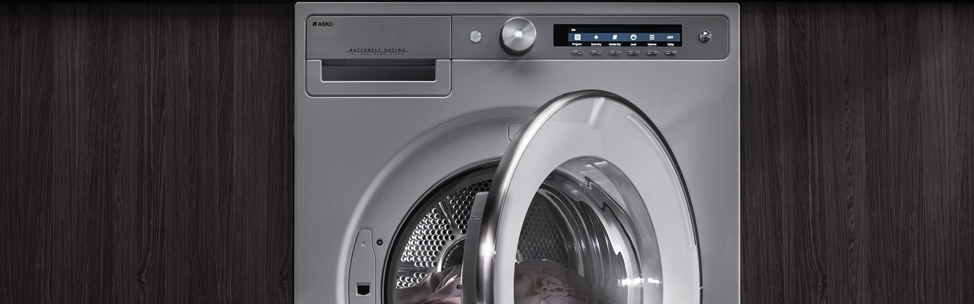 ASKO tumble dryers have programmes for all kinds of laundry